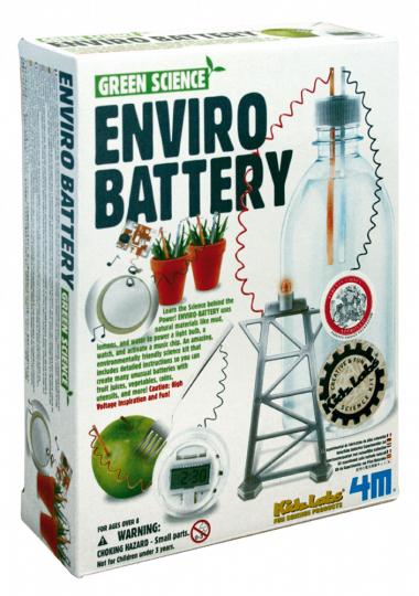 Experimentierset Umweltbatterie.