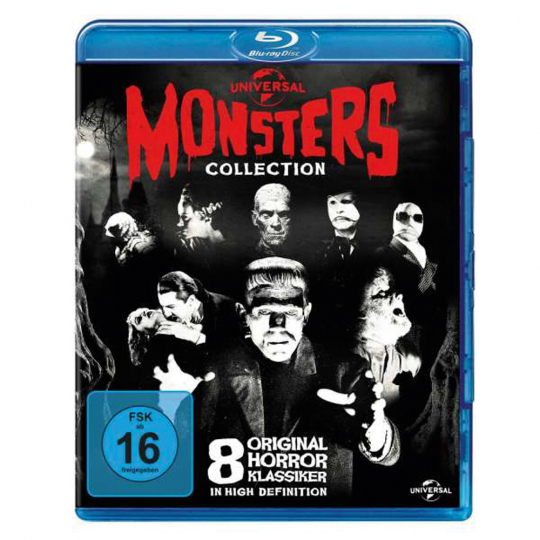 Universal Monsters Collection (Blu-ray) 8 Blu-ray Discs