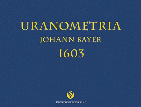 Uranometria von Johannes Bayer 1603.
