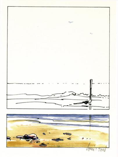 Ursula Heinze de Lorenzo. Das Meer aufgeschlagen. Gedichtzyklus.