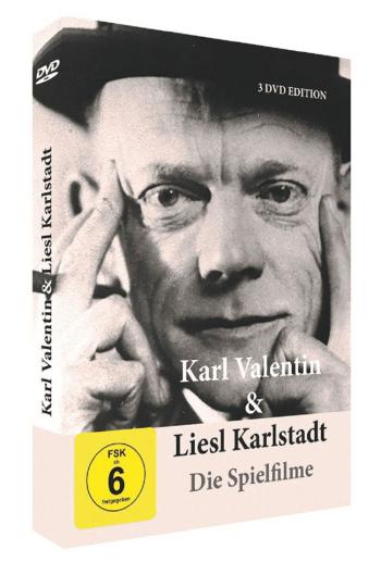 Valentin und Karlstadt - Die Spielfilme. 3 DVDs.