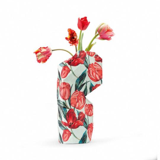 Vasenhülle »Flegels Tulpen«.