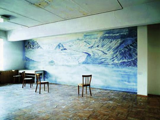 Ville Lenkkeri. »Glacier, 2006«.