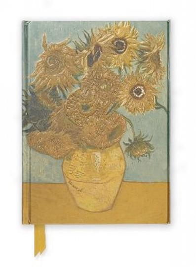 Notizbuch Sonnenblumen, liniert.