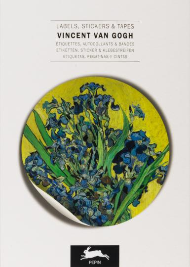 Etiketten- und Aufkleberbuch. »Vincent van Gogh«.