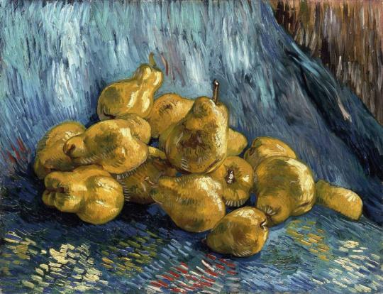 Vincent van Gogh. Quittenstillleben, 1888.