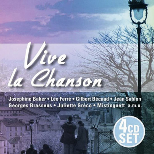 Vive la Chanson. 4 CDs.