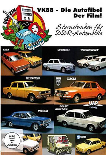 VK88 - Die Autofibel - Der Film! - Sternstunden für DDR-Automobile. DVD.