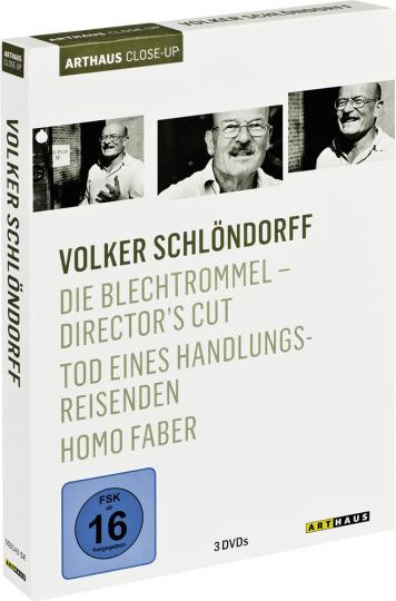 Volker Schlöndorff. Die Blechtrommel, Tod eines Handlungsreisenden, Homo Faber. 3 DVDs.