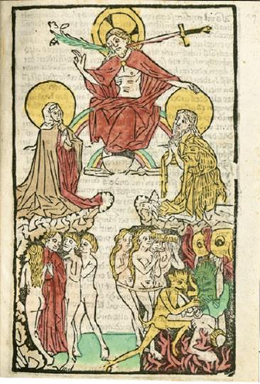 Vom ABC bis zur Apokalypse. Wertvolle Blockbücher aus der Bayerischen Staatsbibliothek.