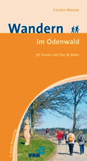 Wandern im Odenwald - 58 Touren mit Bus & Bahn