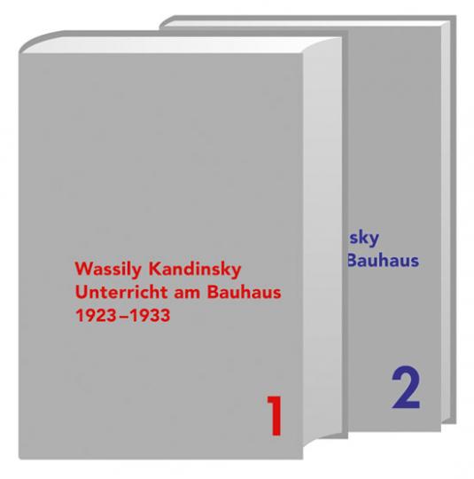 Wassily Kandinsky. Unterricht am Bauhaus.