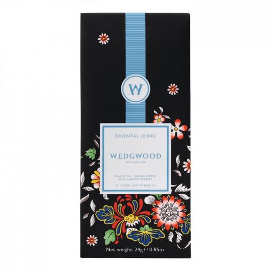 Wedgwood-Tee »Chinesische Blüten«.