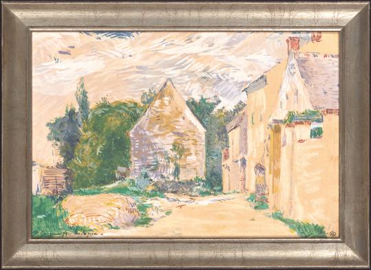 Weg am Bauernhaus. Paul Gauguin (1848-1903).