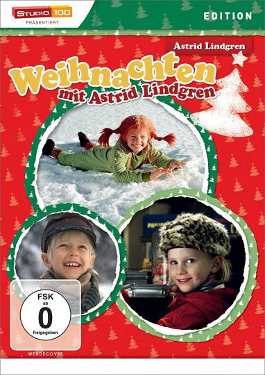 Weihnachten mit Astrid Lindgren 1. DVD.