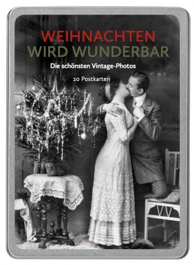 Weihnachten wird wunderbar. Die schönsten Vintage-Photos. 20 Postkarten.