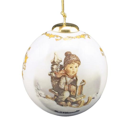 Hummel-Weihnachtskugel »Fahrt in die Weihnacht«.