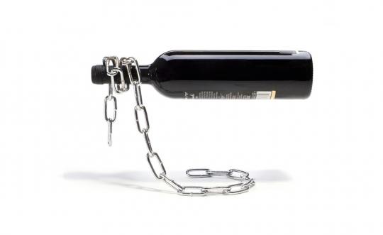 Weinflaschenhalter »Kette«.