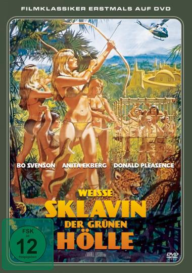 Weiße Sklavin der grünen Hölle DVD