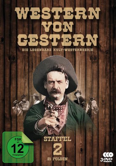 Western von Gestern. Staffel 2. 3 DVDs.