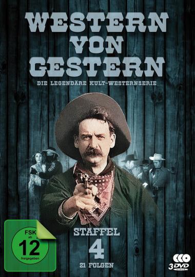 Western von Gestern. Staffel 4. 3 DVDs.