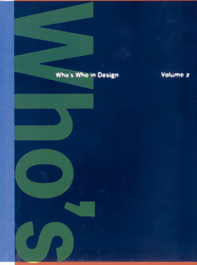 Who's who in Design Volume 2