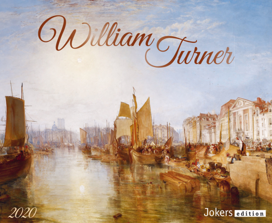 William Turner 2020. Wandkalender.