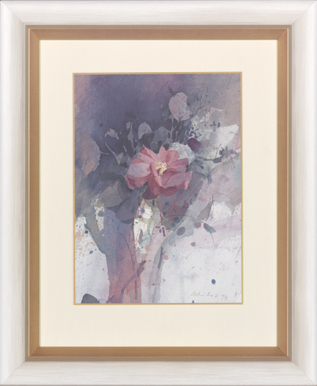 Willy Reichert (geb. 1937), Rose.