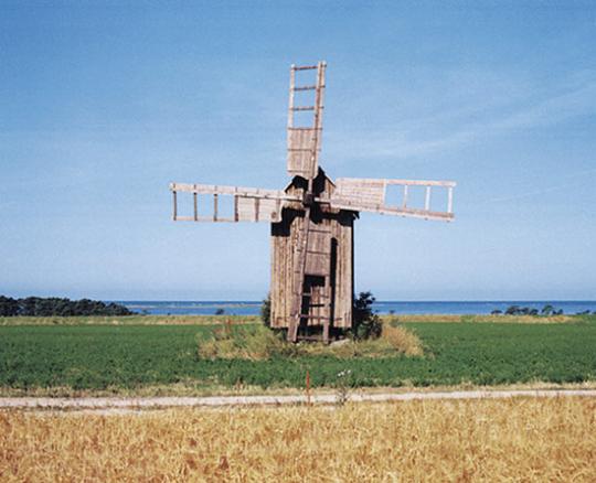 Windmühlen. Fotografien.