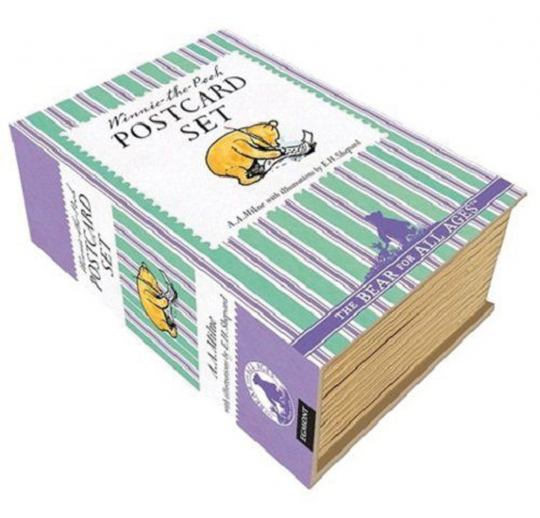 Winnie Puuh. 100 Postkarten in attraktiver Geschenkbox.