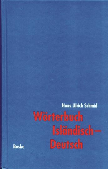 Wörterbuch Isländisch - Deutsch