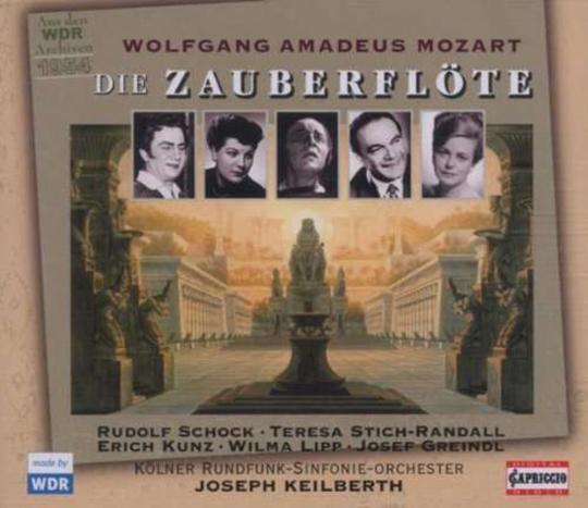 Wolfgang Amadeus Mozart. Die Zauberflöte. 2 CDs.
