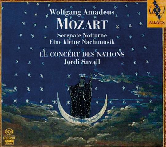Wolfgang Amadeus Mozart. Serenaden Nr.6 »Notturna« & Nr.13 »Kleine Nachtmusik«. Hybrid-SACD.