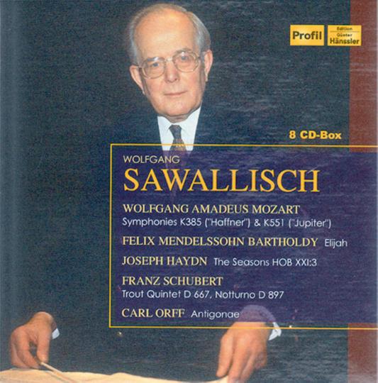 Wolfgang Sawallisch 8 CDs