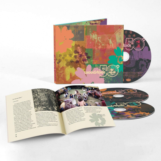 Woodstock - Back To The Garden (50th Anniversary Collection). 3 CDs.