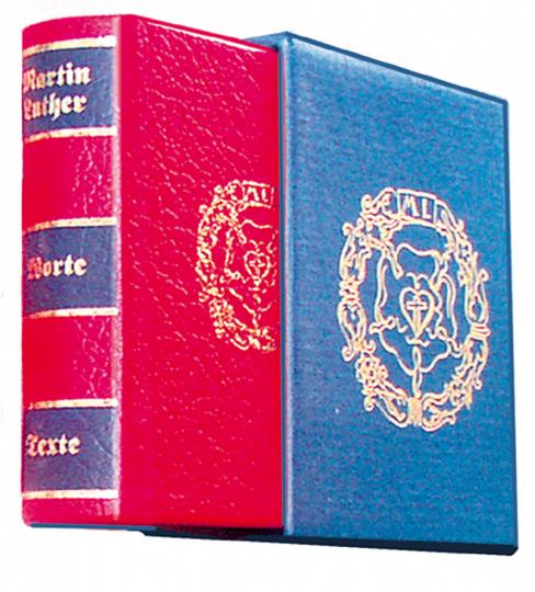 Worte und Texte - Leder-Mini-Ausgabe in Schuber