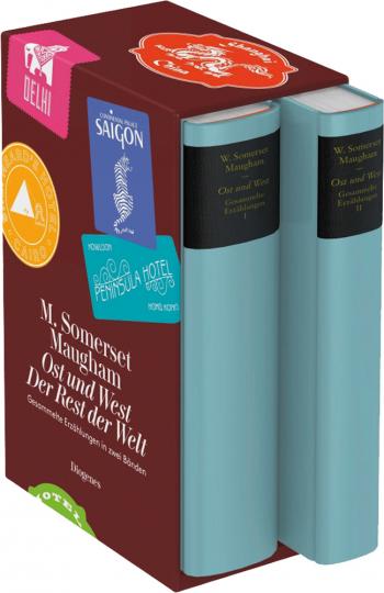 W. Somerset Maugham. Ost und West / Der Rest der Welt. Gesammelte Erzählungen in zwei Bänden.