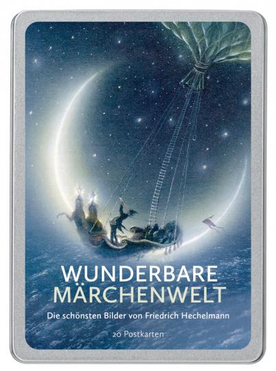 Wunderbare Märchenwelt - Postkartenbuch