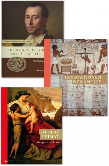 Zaberns Bildbände der Archäologie 1. 3 Bände.