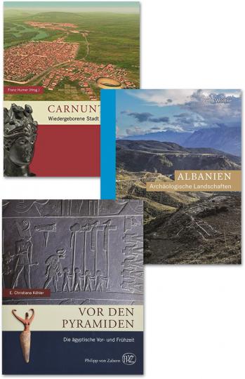 Zaberns Bildbände der Archäologie 2. 3 Bände.