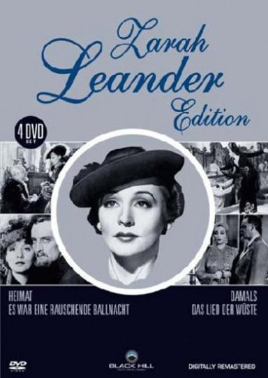Zarah Leander Edition. 4 DVDs.