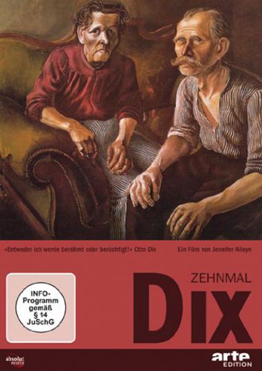 Zehnmal Dix. Otto Dix. DVD.