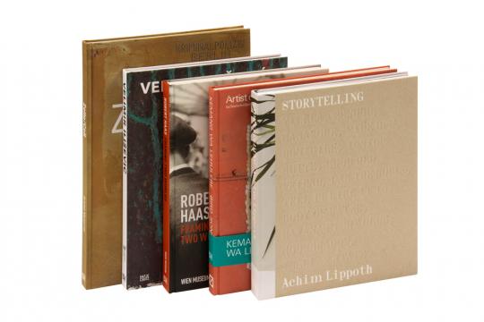 Zeitgenössische Kunst und Fotografie. Set mit 5 Bänden.