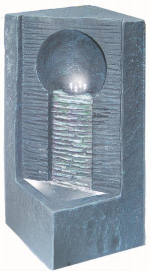 Zimmerbrunnen modern - Mit Beleuchtung