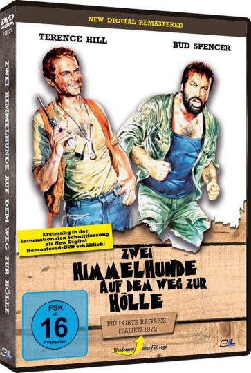 Zwei Himmelhunde auf dem Weg zur Hölle. DVD.