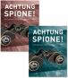 Achtung Spione! 2 Bände. Katalog und Essayband. Bild 1