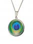 Amulett »Pfauenfedern«. Bild 1