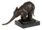 Bronzefigur Rembrandt Bugatti »Indischer Elefant«. Bild 1