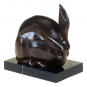Bronzefigur Umberto Boccioni »Hase«. Bild 1