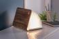 Buch als Lampe Holz, groß. Bild 1
